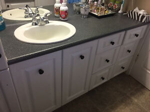 Bathroom/Laundry Room cabinetry