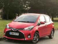 2014 Toyota Yaris 1.33 Dual VVT-i Icon Multidrive S 5dr EU5 Hatchback Petrol Aut