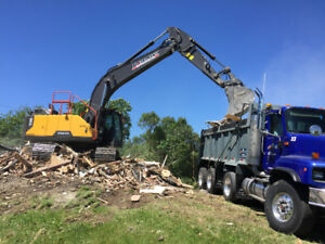 TRIAXLE DUMP TRUCK SERVICES FOR HIRE