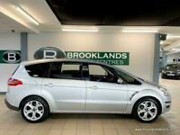 Ford S-Max TITANIUM 2.0 TDCI [8X SERVICES, SAT NAV, LEATHER, PANORAMIC ROOF and