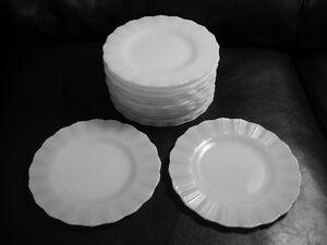 18 Vintage MacBeth Evans Milk CORNING COREX 1948-54 plates