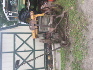 John Deere Horse Mower