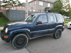 Jeep liberty for trade