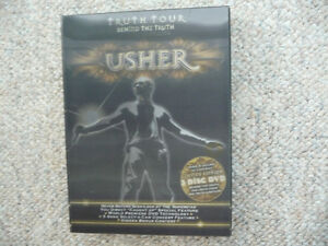 Usher - Truth Tour - Behind The Truth - 3-Disc DVD