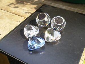 Swarovski Crystal Hearts and SCS Paper Weights Kitchener / Waterloo Kitchener Area image 5