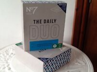 No7 Mens daily duo face and body wash gift boxes New