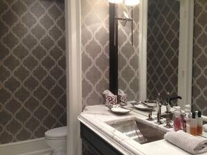 Wallpaper Installer Oakville / Halton Region Toronto (GTA) image 4