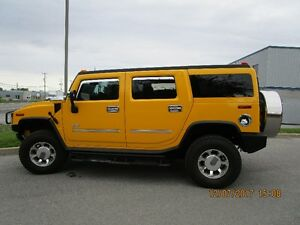 2003 HUMMER H2 chrome VUS de collection