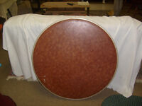 Folding Card Table Round