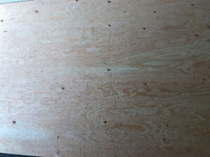 lumber plywood exterior 1/2 in 4x8 ft spruce 05   25$