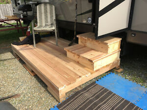 RV DECK AND STEPS