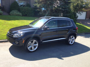 2014 VW Tiguan Highline R-Line All Wheel Drive