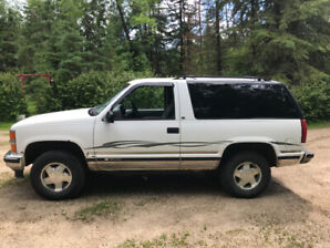 96 Chevy Tahoe LS 2DR (Sell or Trade) (Pending)