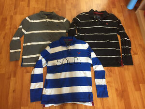 Hollister and American Eagle Short and Long-Sleeved Polo Shirts Windsor Region Ontario image 3