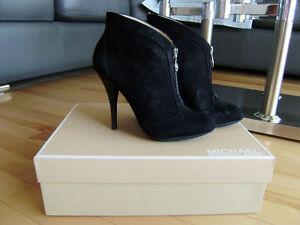 Michael Kors Black Suede Ankle Boot - SIZE 6.5