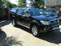 2011 61 Reg Toyota HiLux 3.0D-4D Invincible NO VAT