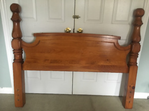 Solid Pine Headboard for use with a Double Bed