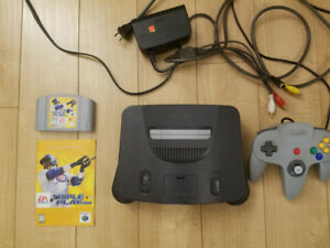 N64 with controller and game