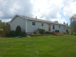 Beautiful like new 1 story home in country 30 min to Fredericton