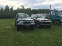 2003 and 2002 tracker