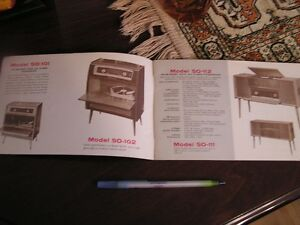 Vintage brochure- Grundig Fleetwood Self-Contained Stereo West Island Greater Montréal image 3