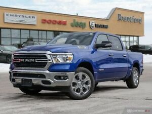 2019 Ram 1500 Big Horn  - Remote Start - Uconnect - $306.84 B/W