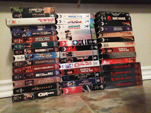 Over 200 VHS Movies For Sale!