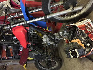 yz and honda shadow projects $600