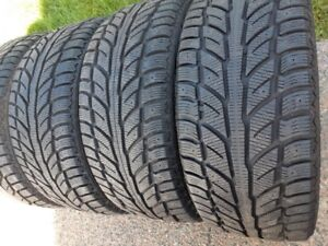 235/50R/18 COOPER WEATHERMASTER WINTER TIRES -LIKE NEW-11/32NDS