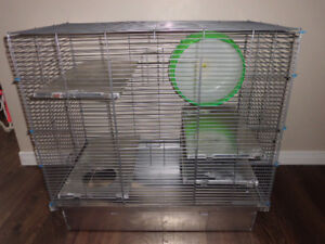 Cage pour animaux.