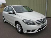 2014 63 MERCEDES-BENZ B CLASS 1.6 B180 BLUEEFFICIENCY SE 5D AUTO 122 BHP