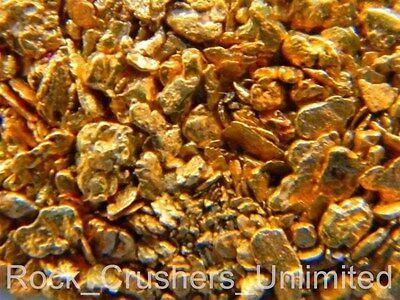 Pure Alaska Native Placer Gold Nuggets / dredge sluice fines specimen prospector