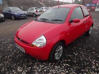 FORD Ka 1.3i~53/2003~3 DOOR HATCHBACK~MANUAL~STUNNING BRIGHT RED~JUST 20k !!!!!