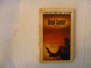 DEAD CENTER by Lee Langley - 1968 Paperback