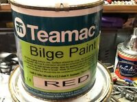 Yacht or boat - Teamac Red Bilge Paint
