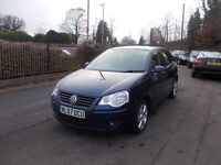 Volkswagen Polo 1.4 Match 5dr PURELY OUTSTANDING CONDITION 08/57 (blue) 2008