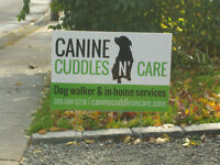 CANINE CUDDLES N' CARE Professional All Breed Dog Walker