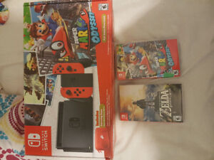Selling a nintendo switch with games