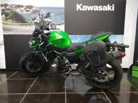 2018 KAWASAKI Z650 with Free Soft fitted Panniers