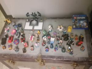 PS4 LEGO DIMENSIONS GAME & 50+ FIGURES