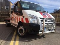 Ford transit 2011 2.4 tdci t350L recovery truck @very low Millage @