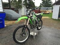 Trade my 07 KX450F for yz125