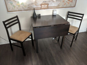 CHEAP 3-piece dining set - perfect for condos - $150