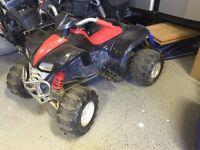 12v power wheels quad