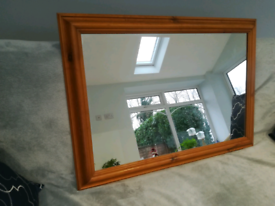 Large hall or dining room mirror