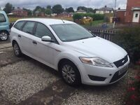 2009 Ford Mondeo Estate 1.8 Tdci White Excellent Runner