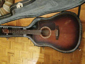 Godin art and lutherie electric acoustic guitar