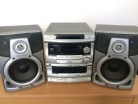 Daewoo 3 disc hifi stereo