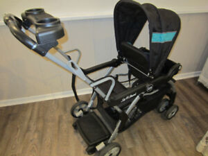 Sit N Stand DX Deluxe Tandem Stroller