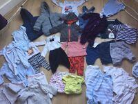Newborn Boys baby clothes bundle 27 items!